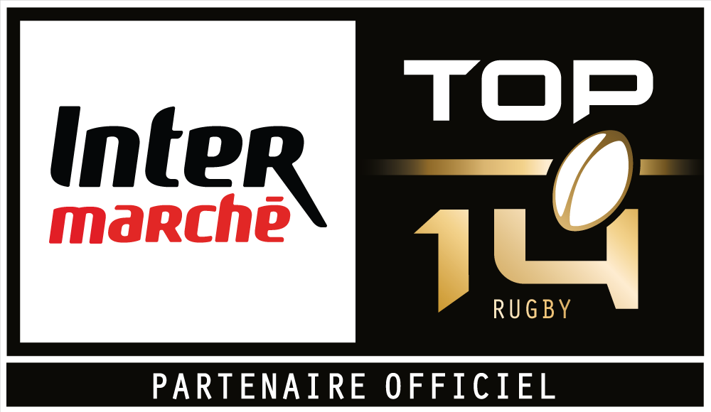 Logo Top 14 x Intermarché