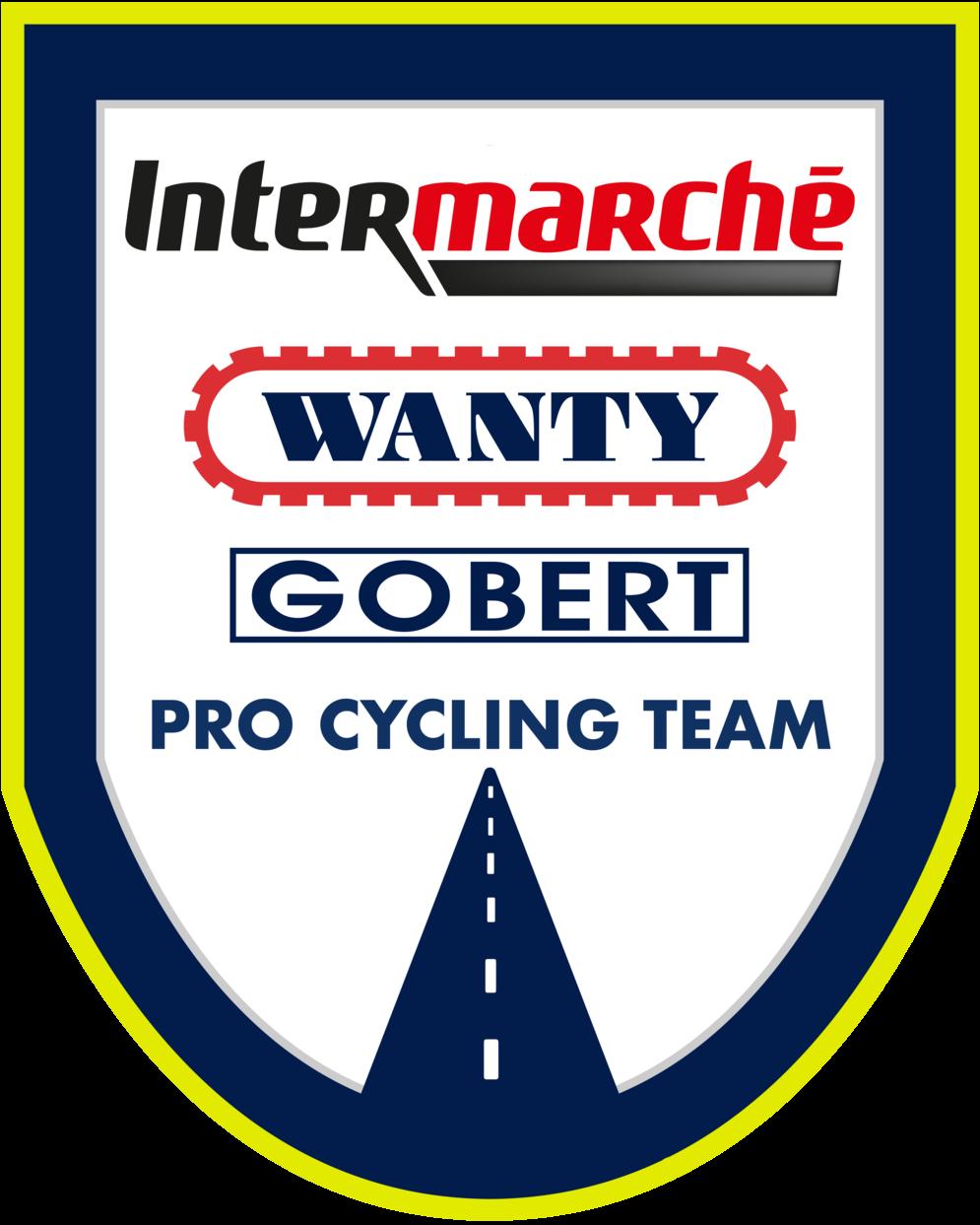 Logo Wanty Gobert x Intermarché
